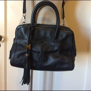 Aimee Kestenberg Handbags - Aimee Kestenberg black pebble leather purse