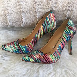 SALEPrabal Gurung Rainbow Pump
