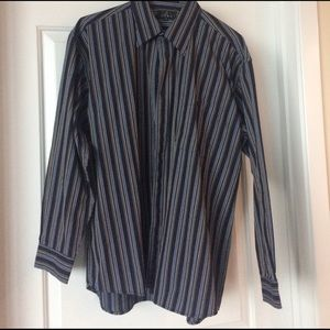 Men's striped button down shirt. Accepts offers.