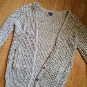 Sparkle & Fade cardigan sweater