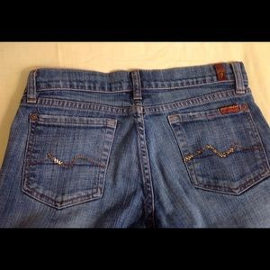 7 for all mankind jeans size 26 x30