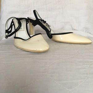 Loewe Shoes - Loewe White Slingbacks