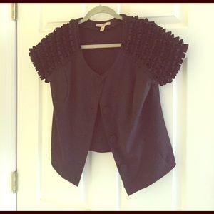 Fever London Tops - Ruffled sleeve blouse/jacket