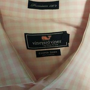 Vineyard Vines Other - Vineyard Vines Pink Gingham Cooper Shirt
