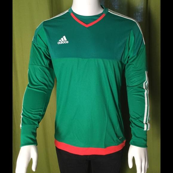 d16b3865b NWT Adidas Men s Top 15 GK Goalkeeper Jersey