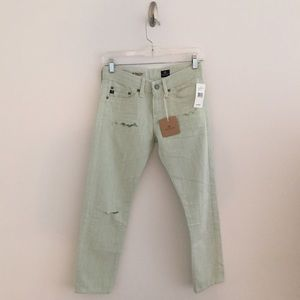 "AG Adriano Goldschmied Denim - AG ""Piper Crop"" NEW WITH TAGS, Size 24, Seafoam"