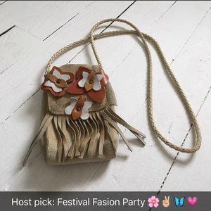 Fendi Handbags - Fendissime by Fendi vintage boho bag