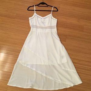 PJK midi silk dress