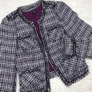 White House Black Market Jackets & Blazers - WHBM • Beautiful Tweed Blazer