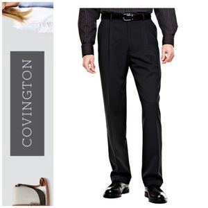 "Men's COVINGTON ""pleated with cuff"" Dress Pant"
