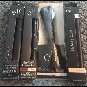 ELF Other - BUNDLE OF NIB ELF COSMETICS FOR EYES FACE AND LIP!