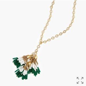J. Crew Jewelry - J. Crew Crystal Tassel Necklace