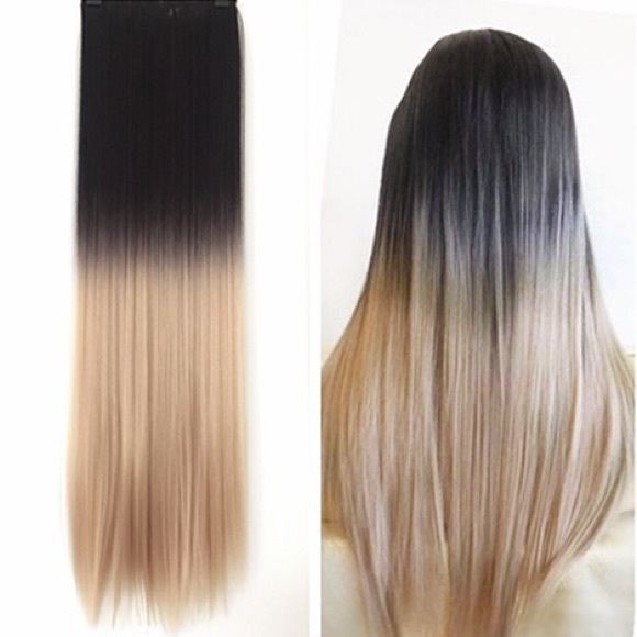 Accessories Clip In Ombre Synthetic Hair Extensions Poshmark