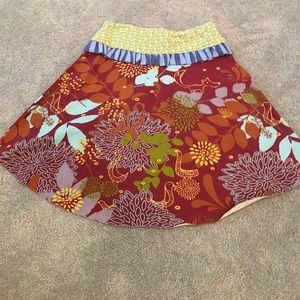 Other - A skirt with three different patterns