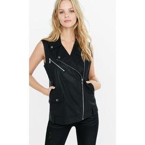 Express Jackets & Blazers - Express minus the leather moto style vest