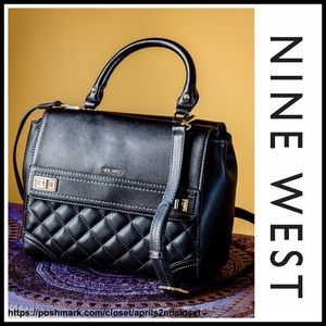 Nine West Handbags - ❗️1-HOUR SALE❗️NINE WEST VEGAN LEATHER CROSSBODY