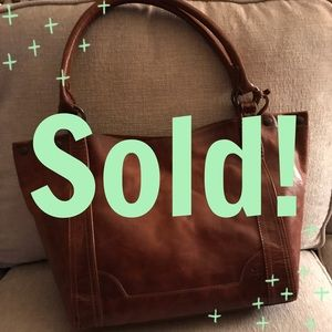 Frye Handbags - NWT FRYE MELISSA BAG