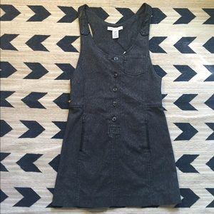 Charlotte Ronson Dresses & Skirts - Charlotte Ronson grey overall Jean dress.