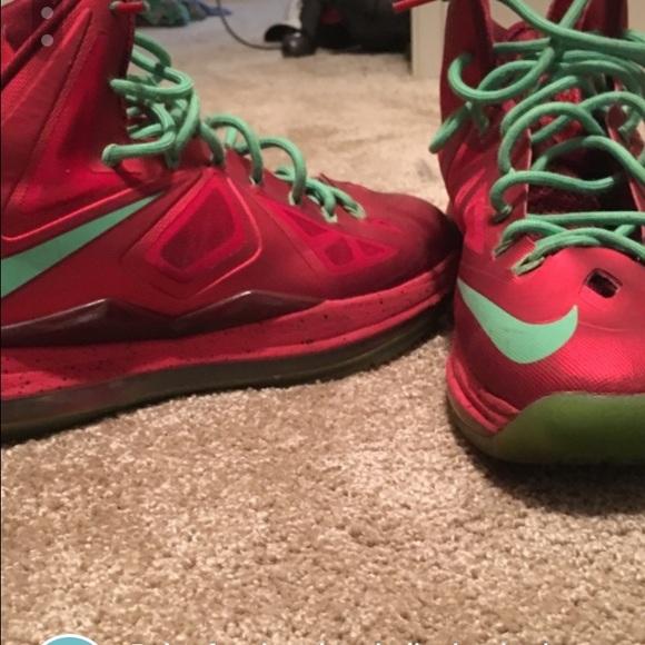 Christmas Shoes Nike.Lebron 10 Christmas Shoes