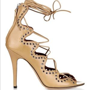 Isabel Marant Shoes - Isabel marant lelie heels sandal in tan