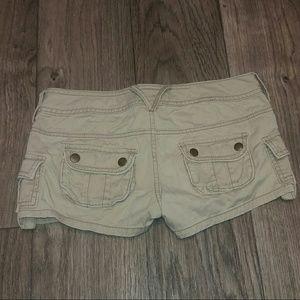 Decree Pants - Khaki cargo style shorts