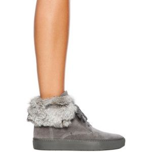 Vince Shoes - Vince nyack fur sneakers