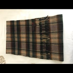 George Harrison & Co. Other - Plaid Cashmere Scarf