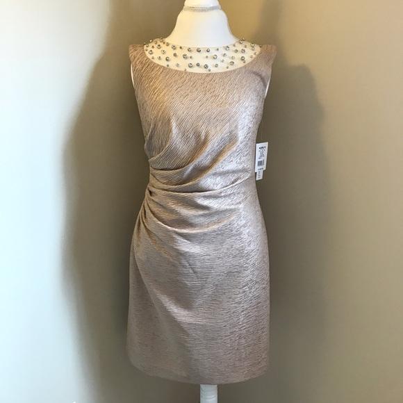 Dresses Kohls Gold Cocktail Dress Poshmark