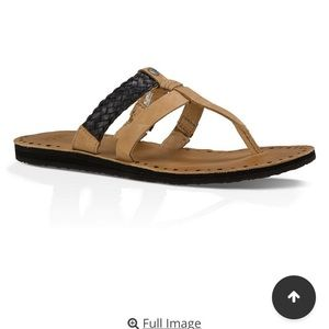 UGG Shoes - UGG Leather Audra Sandals. NEW sz 9