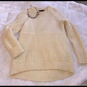 Banana Republic Sweaters - Banana Republic Italian Wool Cream Sweater XS