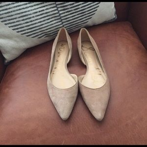 a195e5f479c0 Sam Edelman Shoes - Sam Edelman - Reema d Orsay Suede Flats - Like New
