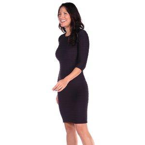 Tees by Tina Dresses & Skirts - Tees by Tina▪️Black Crinkle-Miracle Dress