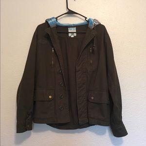 Ashley by 26 International Jackets & Blazers - Army Green Jacket