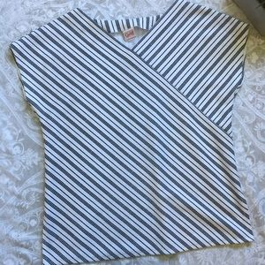Tops - Vintage 80s striped Tunic m/l