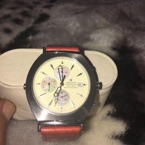 Croton Other - Men's Croton Chronomaster Reversible, 2 dial watch