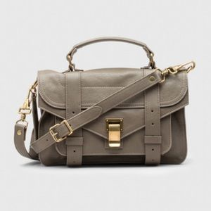 Proenza schouler ps1 tiny in army