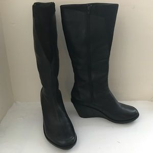 Camper Shoes - Campers Knee high platform boots