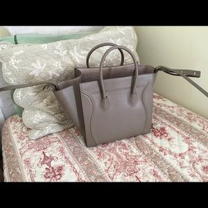 Celine Bags - Celine Authentic Phantom Luggage Tote