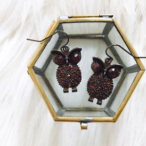 Jewelry - 🆕 Bronze Owl Earrings