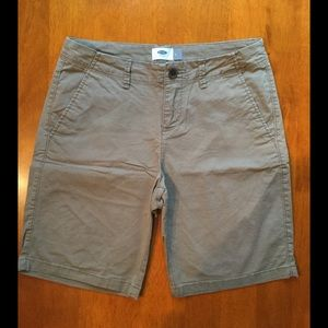 Old Navy Pants - Old Navy Size 2 Olive Green Chino Shorts