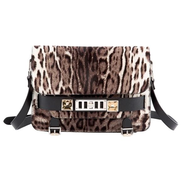Proenza Schouler Bags - Proenza schouler ps11 Grey leopard pony style