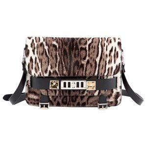 Proenza Schouler Handbags - Proenza schouler ps11 Grey leopard pony style