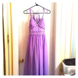Cache Coeur Dresses & Skirts - Beautiful Cache' lavender prom dress size 6