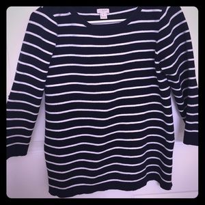 J.Crew sweater with side zippers