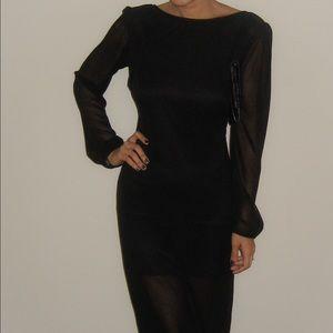 Lulu's Dresses & Skirts - Black Long Sleeve Dress