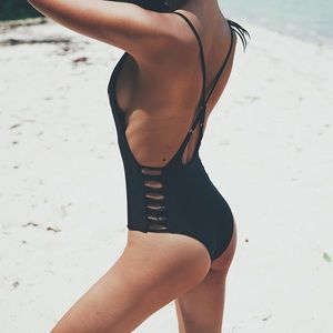 Other - Top Selling Black Bandage One Piece Monokini