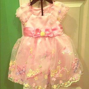 Other - Pink princess dress - 12 months