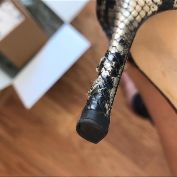 Jimmy Choo Shoes - jimmy choo snakeskin print heels