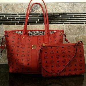 MCM Handbags - MCM reversible shopper