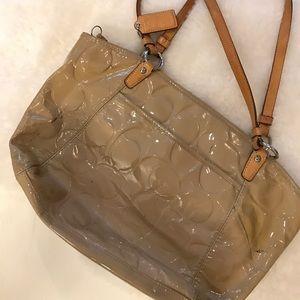 Coach Bags - Beige Coach handbag